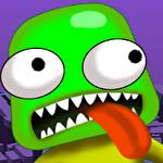 Explore the zombie: Brain on icon