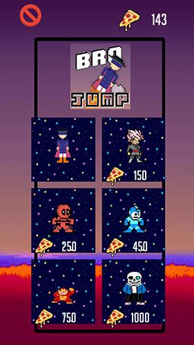Pixelspiele Bro jump auf Deutsch