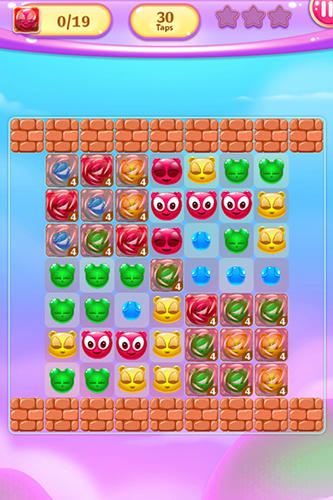Gummy pop: Chain reaction game für Android