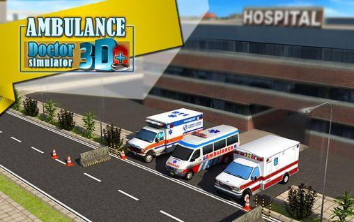 Ambulance: Doctor simulator 3D скриншот 1