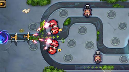 Tower defense: Galaxy legend auf Deutsch