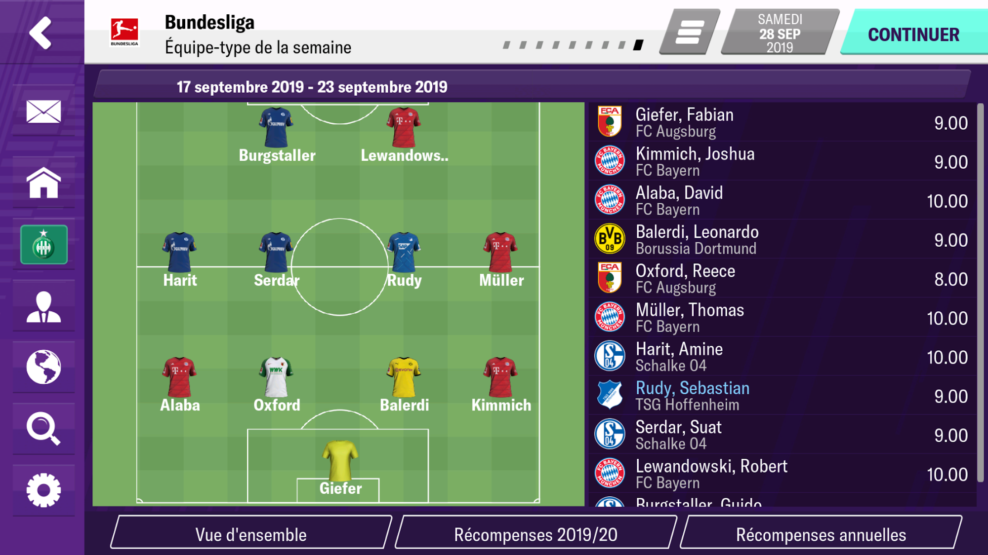 Football Manager 2020 Mobile capture d'écran 1