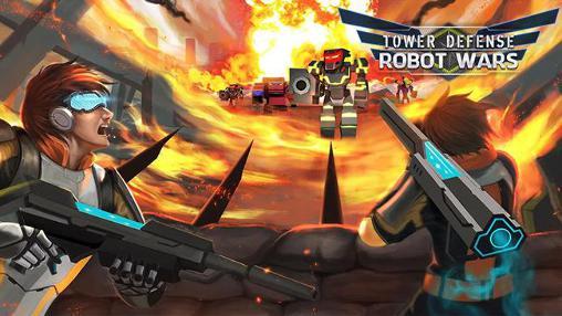 Tower defense: Robot wars Symbol