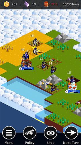 Kingdoms arena: Turn-based strategy game auf Deutsch