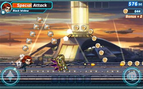 Marvel: Run, jump, smash! for iPhone