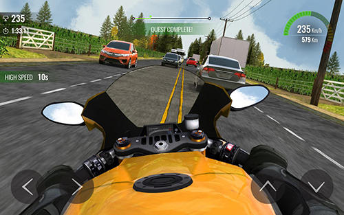Moto traffic race 2 para Android