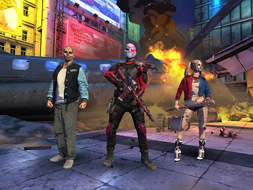 Screenshot Suicide Squad: Spezialeinheit auf dem iPhone