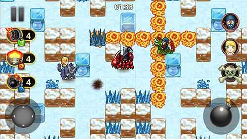 Arcade-Spiele Bomb riders für das Smartphone