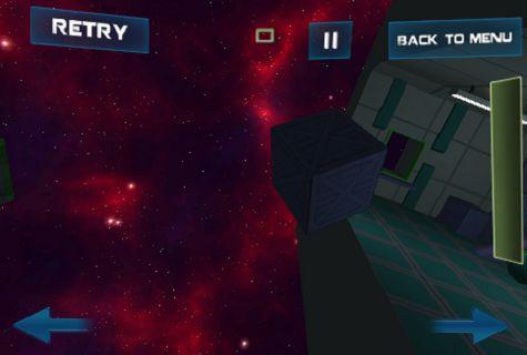 Arcade-Spiele Space adventure für das Smartphone