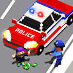 Police hero rescue: San Andreas gangster COP chase icon