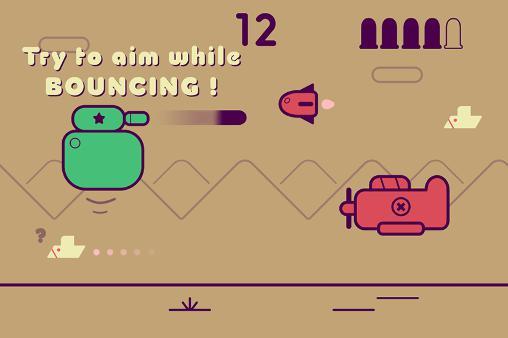 Arcade-Spiele Bouncing tank für das Smartphone