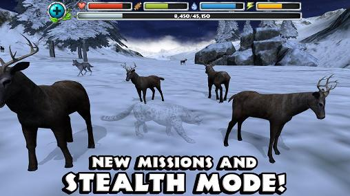 Snow leopard simulator для Android