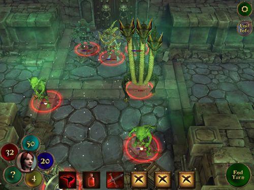 Captura de pantalla Rebelión de los demonios en iPhone