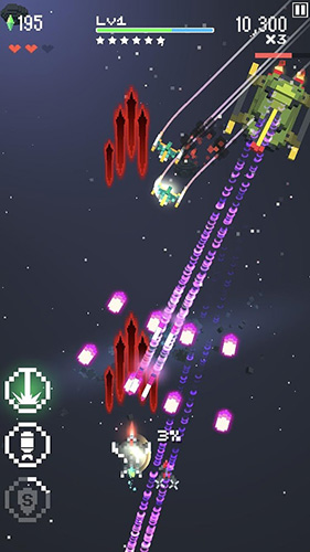 Аркады: скачать Retro shooting: Pixel space shooter на телефон