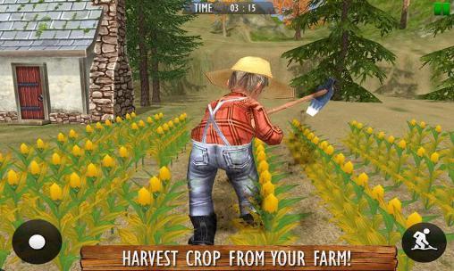 Farm life: Farming simulator. Real farmer 3D en español