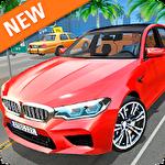 Car simulator M5 icon