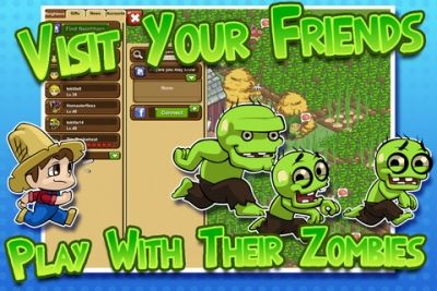 Granja de zombies para iPhone