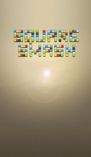 Quadrat Smash: Umgekehrte Blöcke Symbol