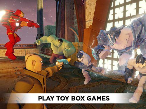 Дисней бесконечность: Ящик с игрушками для Айфон
