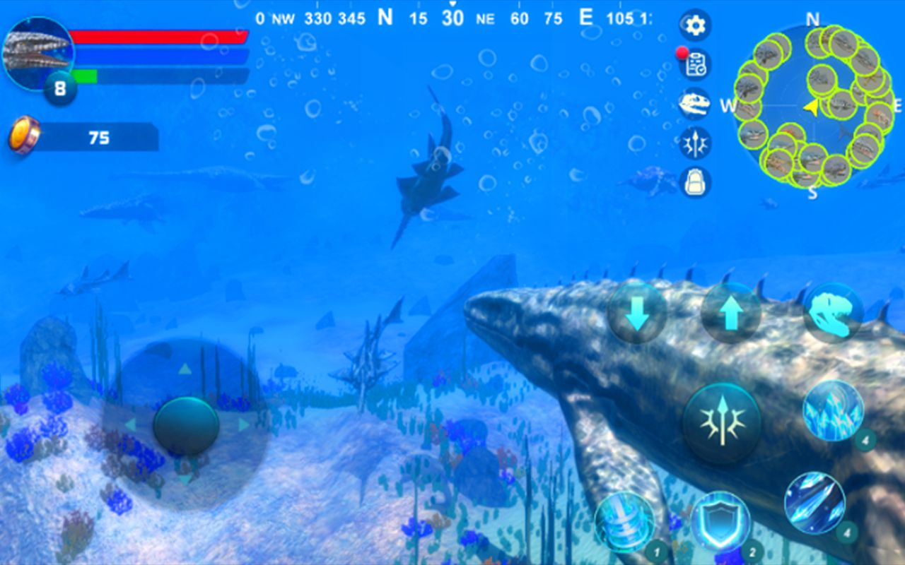 Mosasaurus Simulator pour Android