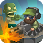 Zombie world: Tower defense Symbol
