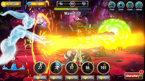 RPG Legacy Grimm: Tap für das Smartphone