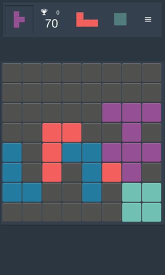 Logikspiele Quadromino: No rush puzzle für das Smartphone