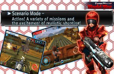 Экшен (Action) игры: скачать Zombie Master World War на телефон