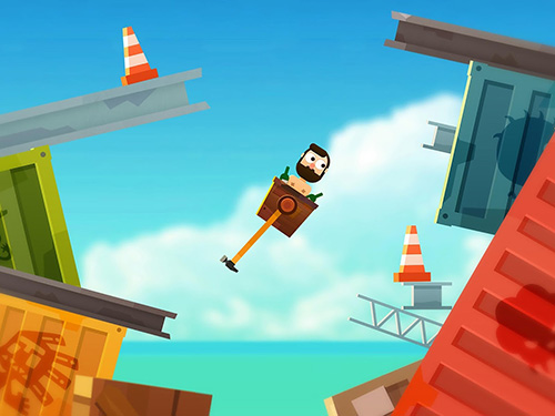 Getting over it with Robinson for Android
