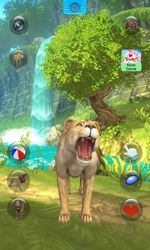 Talking lion für Android