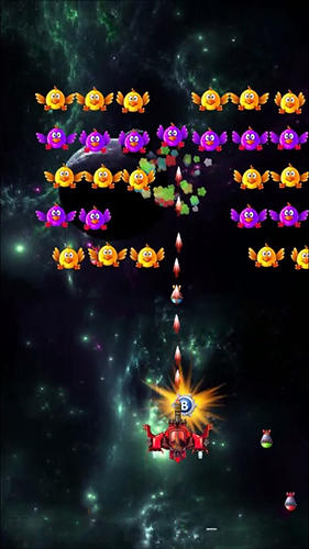 Space invaders: Chicken shooter для Android