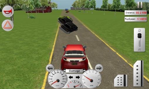 Modern car driver 3D Screenshot