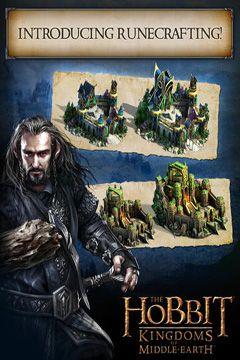 Brettspiele Die Hobbits: Königreich von Mittelerde auf Deutsch