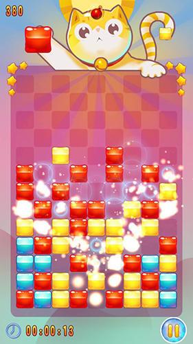 Arcade-Spiele Jelly go! Cute and unique für das Smartphone