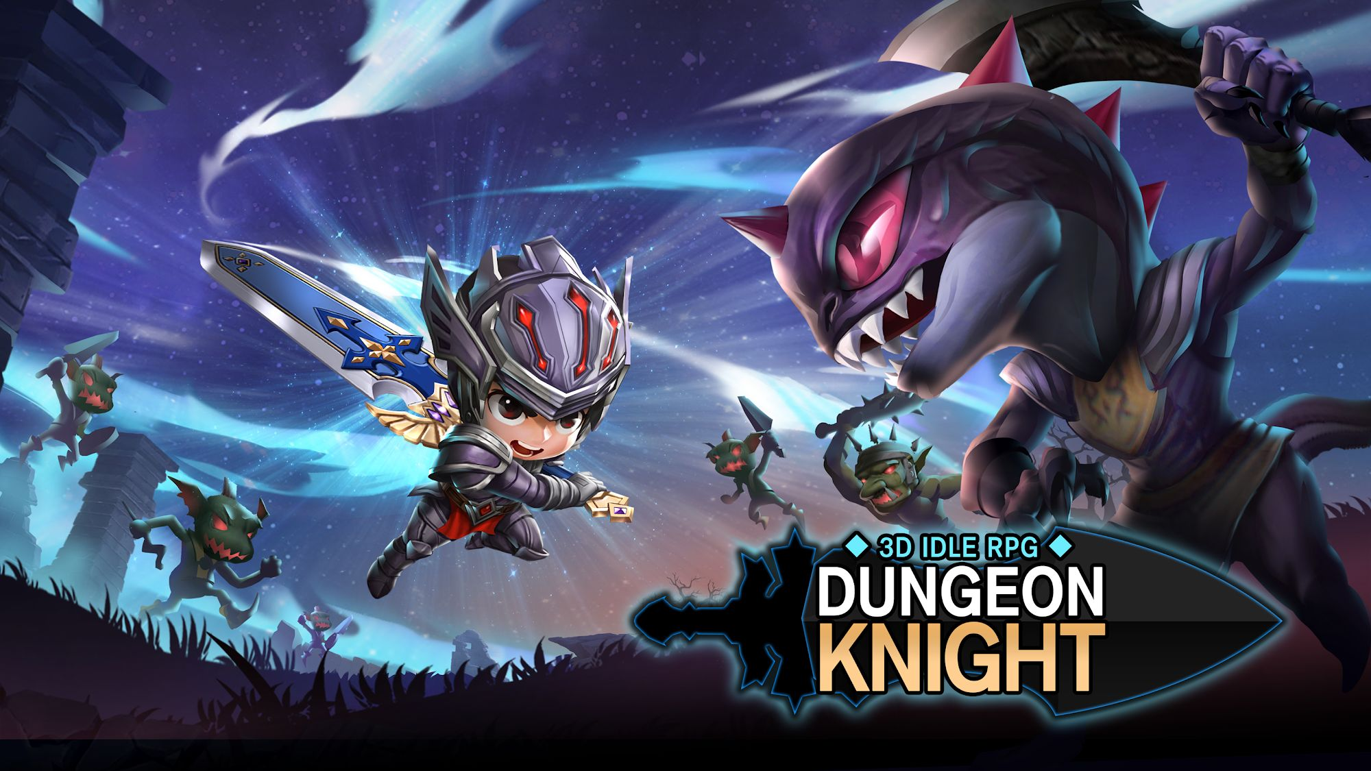 Dungeon Knight: 3D Idle RPG スクリーンショット1