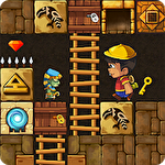 Puzzle adventure: Underground temple quest Symbol