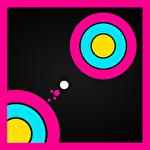 Super circle jump icon