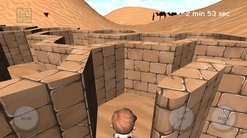 Capturas de tela de 3D maze