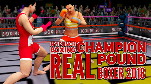 NY punch boxing champion: Real pound boxer 2018 Symbol