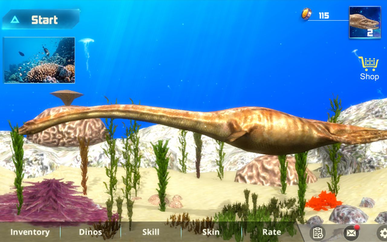 Plesiosaurus Simulator screenshot 1