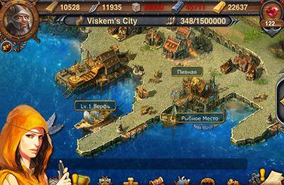 Strategiespiele: Lade Inselkönigreich auf dein Handy herunter
