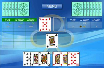 Gambling games: download Card game 1000 to your phone