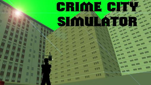 Crime city simulator ícone
