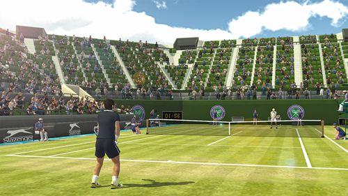 Screenshot Tennis Welttour: Der Weg zum Finale auf dem iPhone