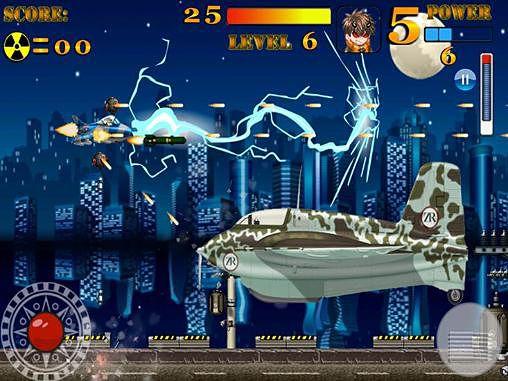 Arcade-Spiele: Lade Falcon Rider auf dein Handy herunter