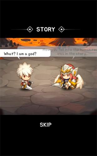 RPG-Spiele God of attack: Suffer expulsion für das Smartphone