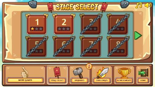 Arcade-Spiele Bois d'arc: Bow shooting für das Smartphone