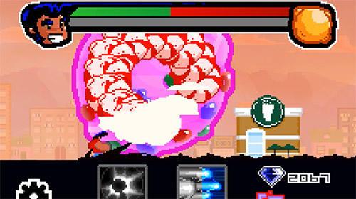 Arcade-Spiele Lee vs the asteroids für das Smartphone
