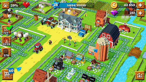 Blocky farm for Android