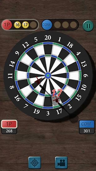 Multiplayer Darts king für das Smartphone
